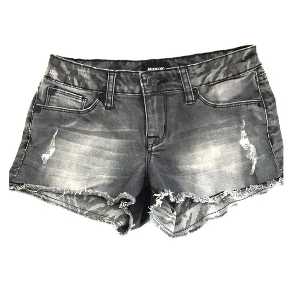 Hudson Jeans Other - Gray and zebra print Hudson jeans shorts